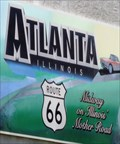 Image for Historic Route 66 - Midway on Illinois 66 - Atlanta, Illinois, USA