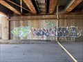 Image for JST ZO SOE! KOED and HARVE graffiti - Providence, Rhode Island