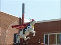 Image for Super Cow - Dairy Mascot - New Britain, CT