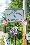 Image for Staff Sgt Joseph E Fitzgerald Memorial Bridge - Northbridge MA