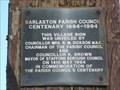 Image for Centenary Village Sign - Barlaston, Stoke-on-Trent, Staffordshire, UK.