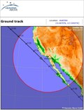 Image for ISS Sighting: Santa Clara, CA - Corona, CA - Site 2