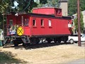 Image for Wood Red Cupola Caboose - ELST Issaquah Wa.