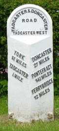 Image for Milestone - A162, Tadcaster, Yorkshire, UK.