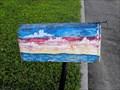 Image for Ocean and sky mailbox - Carpinteria, California