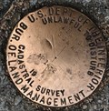 Image for U.S. Department of the Interior T1SR5W GGNRA AP14-2 Cadastral Mark - San Francisco, CA