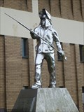Image for 'The Steel Man ' - Hanley, Stoke-on-Trent, Staffordshire, England, UK.