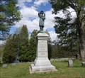 Image for Monument to Firefighters - Woodlawn Cemetery, Elmira, NY