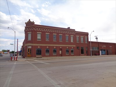 First National Bank - Route 66, Erick
