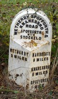 Image for Milestone - A661, Wetherby Road, Spofforth, Yorkshire, UK.
