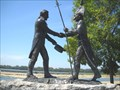 "Image for ""When They Shook Hands"", Falls of the Ohio, Indiana"