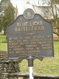 Image for The Battle of Blue Licks