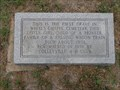 Image for FIRST Grave in White's Chapel Cemetery - Southlake, TX