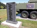Image for Afghanistan-Iraq War Memorial - Fairview Cemetery -  Lacombe, Alberta