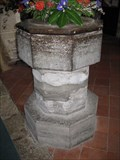 Image for Font - St Michael & All Angels Church,  Sopley, Hampshire, UK