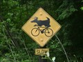 Image for Deer On Bicycle Crossing - Gravenhurst, Ontario, Canada