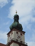 Image for Clock on St. Marien Church - Sulzbach-Rosenberg, BY, Germany