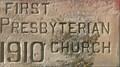 Image for 1910 - Former First Presbyterian Church - Belfry, MT