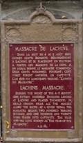 Image for Massacre de Lachine - Lachine Massacre - Montréal, Québec