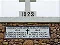 Image for Monument aux soldats morts au champ d'honneur - 1923 - Mont Carmel, PEI
