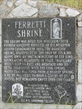 Image for Ferretti Shrine -  Moccasin, CA