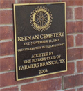 Image for OLDEST - Cemetery in Dallas County, TX
