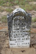Image for OLDEST Marked Grave in Oakland Cemetery - Canton, TX