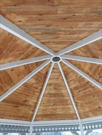 le toit intérieur.