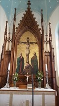 Image for Altarpiece - The German Church of Helsinki / Saksalainen kirkko - Bernhardinkatu - Helsinki, Finland