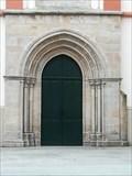 Image for Door of Iglesia Santa María del Campo - Ribadeo, Lugo, Galicia, España