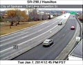 Image for State Route 290 at Hamilton Street Webcam - Spokane, WA