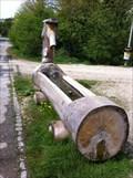 Image for Wooden Fountain near the Pedestrians Bridge - Aesch, BL, Switzerland