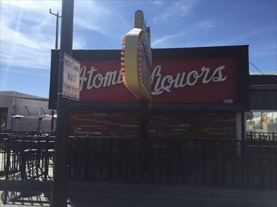 Atomic Liquors, Street View, Las Vegas, Nevada