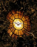 Image for Stained Glass Dove above the Chair of St. Peter - Vatican City State