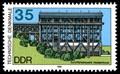 Image for Stamp of Schiffshebewerk - Niederfinow, Germany, BB
