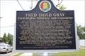 Image for Fred David Gray, Civil Rights Attorney and Legislator -- Tuskegee AL