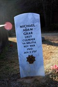 Image for Michael Adam Gaar - Van's Creek Baptist Church Cemetery - Elberton, GA