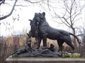 Image for Lioness Carrying to Her Young a Wild Boar - Philadelphia, PA