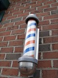 Image for 'Historic' Barber Pole @ Town & Campus Hair Care - Gettysburg, PA
