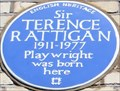Image for Sir Terence Rattigan - Cornwall Gardens, London, UK