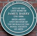 Image for James Barry - Eastcastle Street, London, UK
