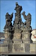 Image for Sculptural group of Our Lady, St. Dominic and St. Thomas Aquinas on Charles Bridge / Sousoší Panny Marie, Sv. Dominika a Sv. Tomáše Akvinského na Karlove moste (Prague)