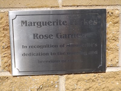 The Dedication plaque on the Visitor Centre