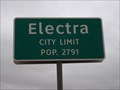 Image for Electra, TX - Population 2791