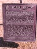 Image for CNHP Gabriel Dumont, 1837-1906