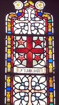 Image for Flamank Coat of Arms - St Mabyn's church - St Mabyn, Cornwall