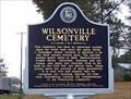 Image for Wilsonville Cemetery - Wilsonville, AL