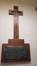 Image for Maynard Mansfield Knight Plaque - St Bartholomew - Bobbing, Kent