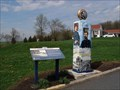 Image for Vintage Gas Pump (Replica) & Lincoln Highway Interpretive - Gettysburg, PA