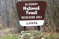 Image for Loleta Recreation Area - Elk County, Pennsylvania